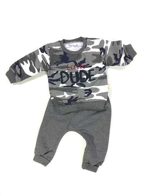 Little army dude grijs