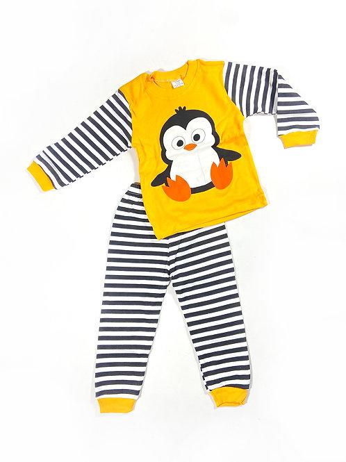 Pyjama Yellow Pinguin