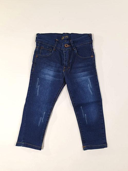 Spijkerbroek, blauwe wassing