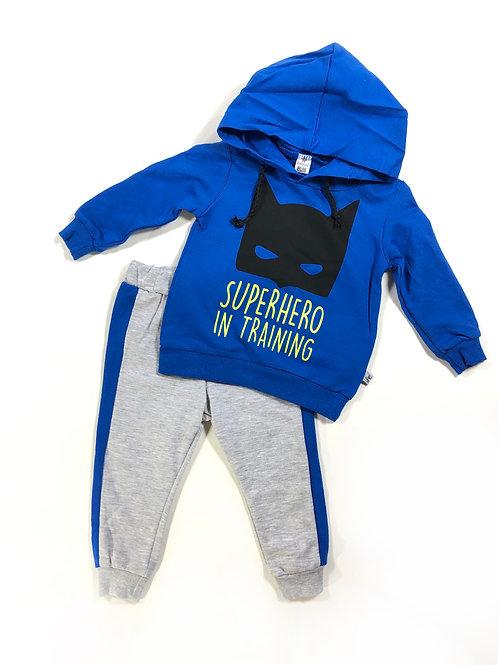 Superhero set blauw