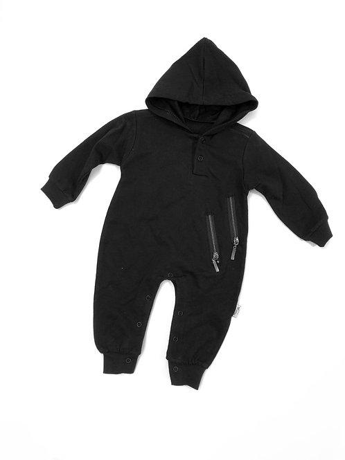 Onesie zipper black