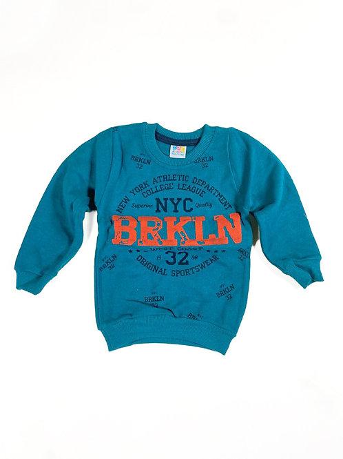 Brooklyn sweater petrol