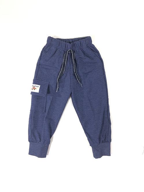 Cargo joggingbroek donkerblauw