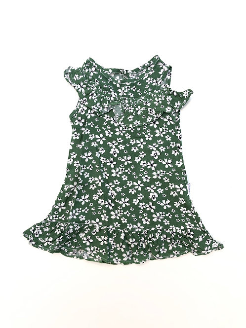 Daisy dress green