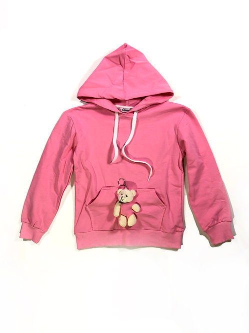 Sweater met beertje roze