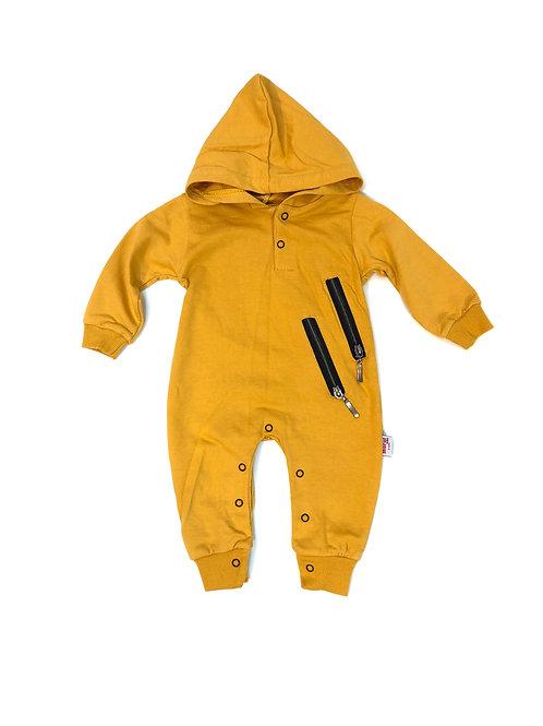 Onesie zipper yellow