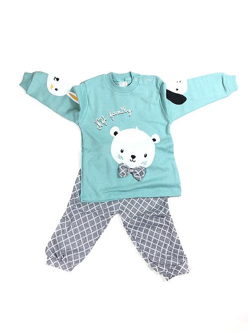 Pyjama set diertjes