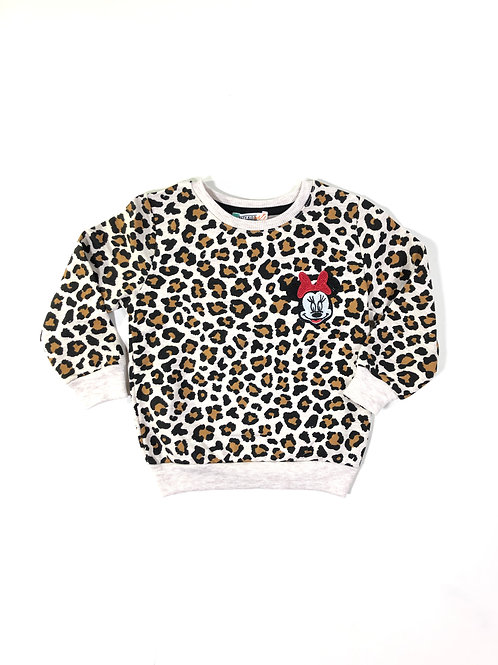Luipaard sweater minni mouse
