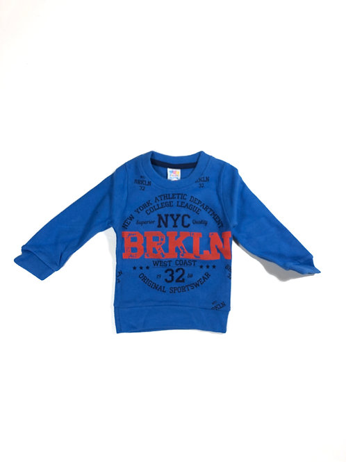 Brooklyn sweater blauw