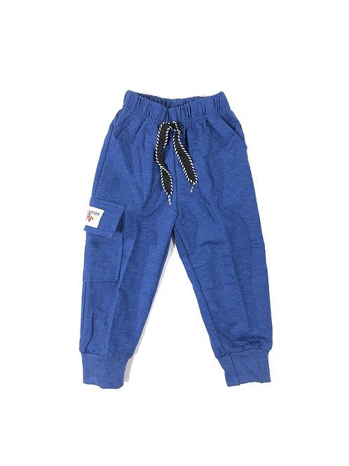 Cargo joggingbroek blauw
