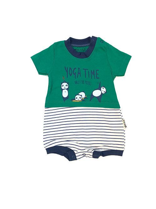 Yogatime babysuit groen