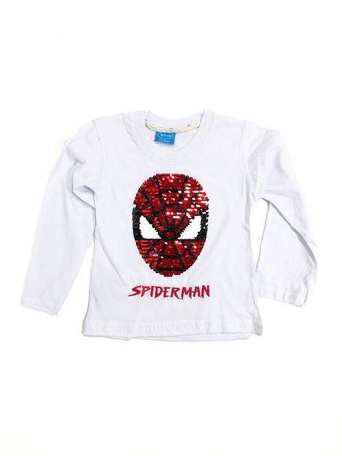 Spiderman tee wit