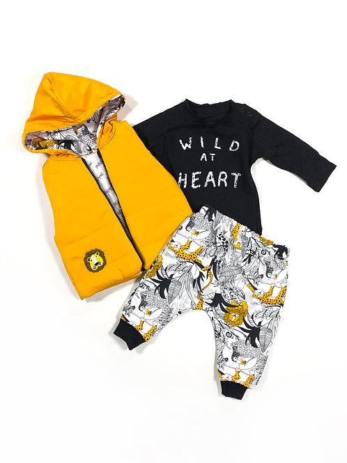 Wild at heart geel