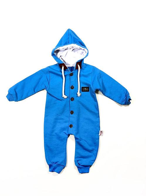 Onesie helblauw