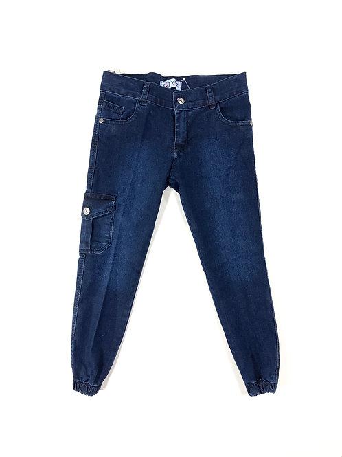 Cargo jeans blauw