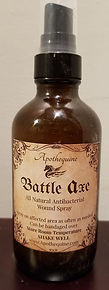 Battle Axe Wound Spray