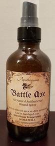 Battle Axe Wound Spray