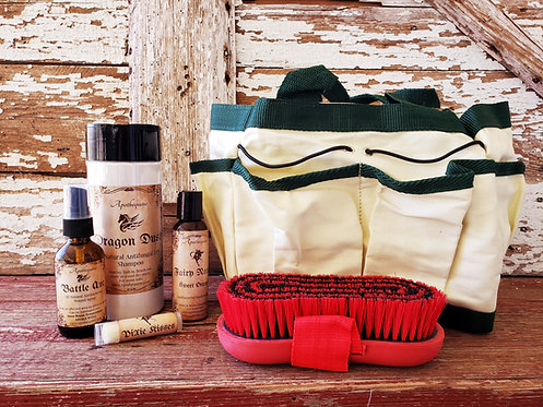 Grooming tote gift set