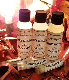 Fairy Nectar Hand Sanitizer Pixie Kisses Lip Balm