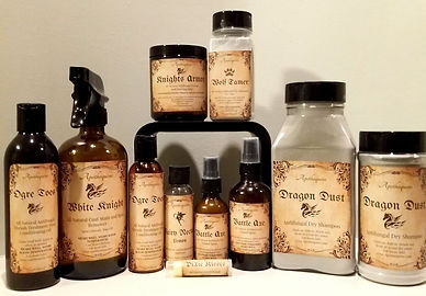Full Line of Equine Skin and Coat Products