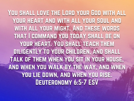 Greatest Commandment and Discipleship