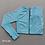 Thumbnail: Seamless Yoga Suit 2 Piece Sports Shirts  Leggings Sport Set Gym Clothes