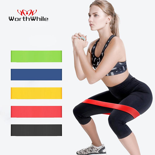 Gym Fitness Resistance Bands Yoga Stretch Pull Up Rubber Band Workout Equipment