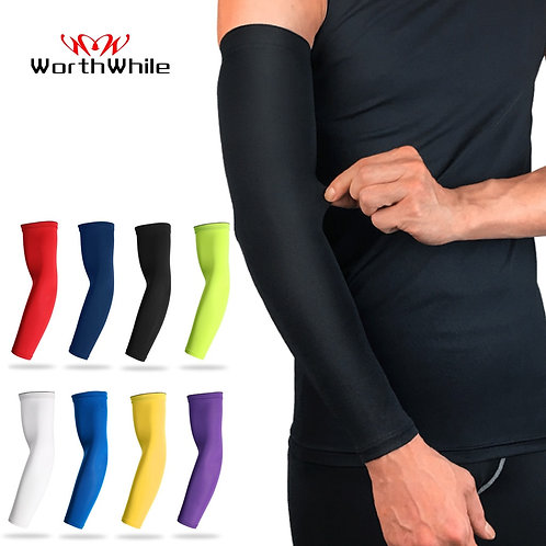 Sports Arm Compression Sleeve Basketball Cycling Arm Protection Sunscreen Bands