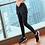 Thumbnail: 2 in 1 Yoga Pants Elastic Running Pant Fitness Slim Sport Pants  Yoga Pants