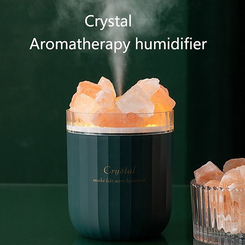 Portable Crystal Aromatheraphy Humidifier USB Wireless  Essential Oil Diffuser
