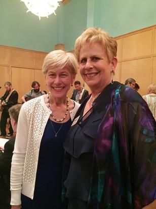 Deborah Ross and Marcia Morgan