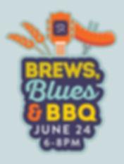 Santa Rita Ranch, Flyer, Brews Blues & BBQ Logo