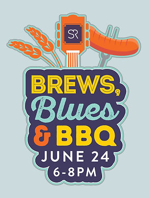 Santa Rita Ranch, Flyer, Brews Blues & BBQ Logo