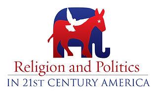 SMU, religion and politics, conference logo