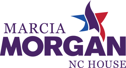 Marcia Morgan campaign logo