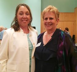 Dr. Kyle Horton and Marcia Morgan