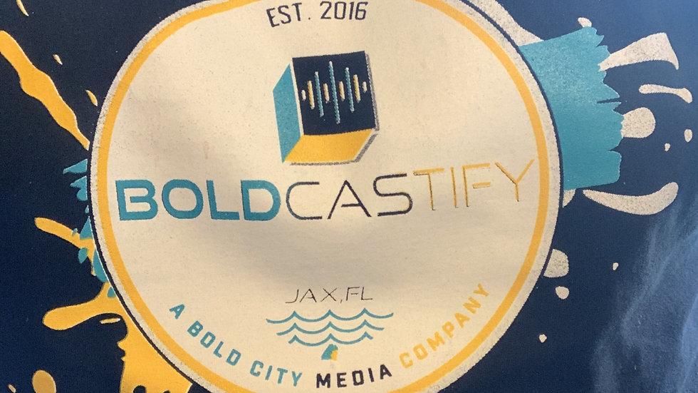 Boldcastify Media Company T Shirt