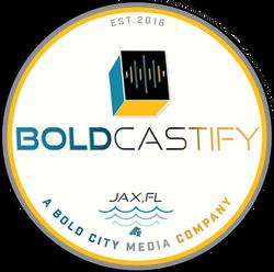 Boldcastify Media Company 2020 Logo