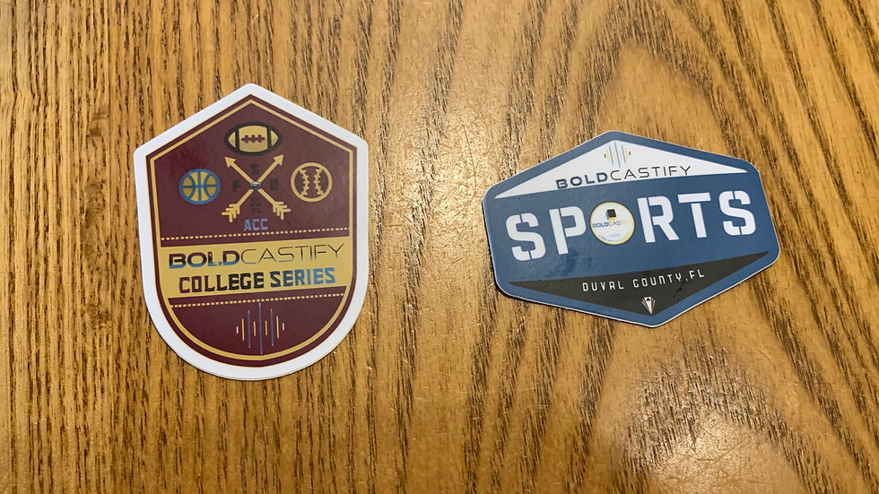 Boldcastify Sports Group Stickers