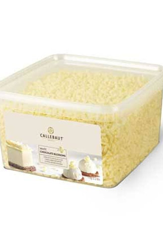 Blossoms de Chocolate Branco da Callebaut