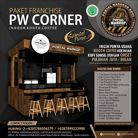 PAKET FRANCHISE PW 2020-CORNER INDOOR OK