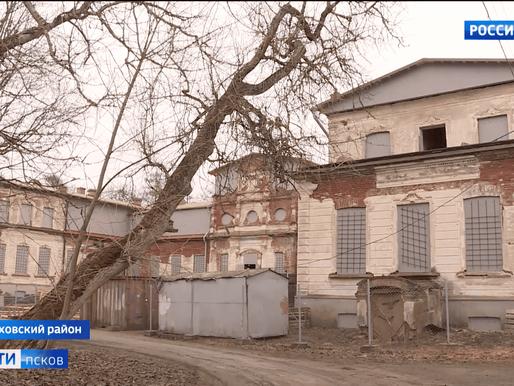 В усадьбе Строгановых в деревне Волышово завершаются противоаварийные работы