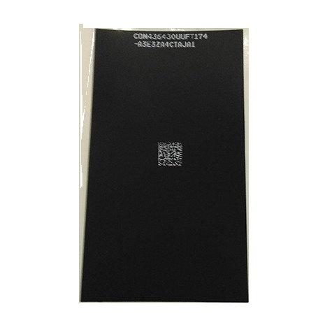 Задняя наклейка на дисплейный модуль (черная). iPhone 5s