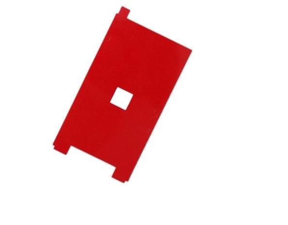 Задняя наклейка на дисплейный модуль (красная) iPhone 6