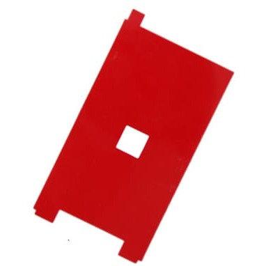 Задняя наклейка на дисплейный модуль (красная). iPhone 5s