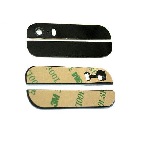 Задние стекла на корпус (верхнее + нижнее) (черн. бел). iPhone 5s
