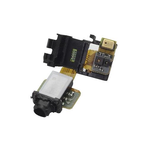 Шлейф разъем 3.5 мм + сенсор + микрофон Sony Xperia Z3