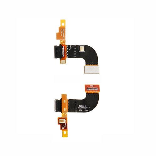 Шлейф разъёма зарядки + микрофон Sony Xperia M5