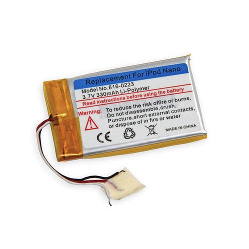 Аккумуляторная батарея iPod Nano 1st Gen