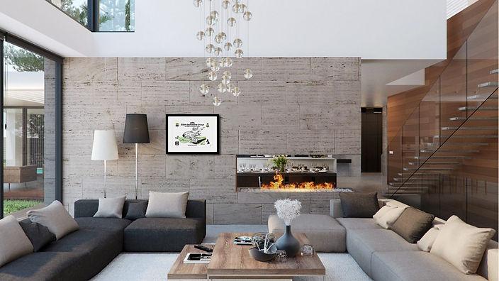 framed 100 OG modern-house-interior-desi